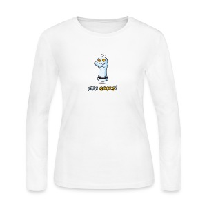 Life Socks - Women's Long Sleeve Jersey T-Shirt