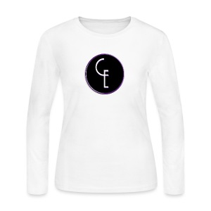 CE Logo - Women's Long Sleeve Jersey T-Shirt