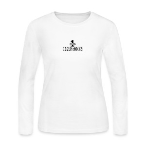 Number One Nation - Women's Long Sleeve Jersey T-Shirt