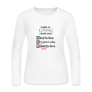 Guide To Loving A Book Series (Black) - Women's Long Sleeve Jersey T-Shirt
