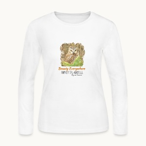 Beauty Everywhere Carolyn Sandstrom - Women's Long Sleeve Jersey T-Shirt