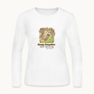 Beauty Everywhere -ORANGE- Carolyn Sandstrom - Women's Long Sleeve Jersey T-Shirt