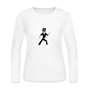 The Famous Mr Warrior - Women's Long Sleeve Jersey T-Shirt