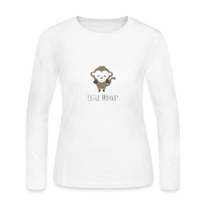 Little Monkey - Women's Long Sleeve Jersey T-Shirt