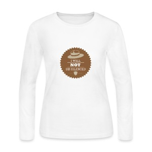 Not be Silenced - Women's Long Sleeve Jersey T-Shirt