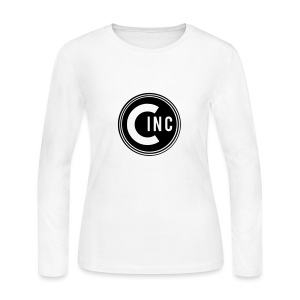 Coasters Inc. Logo - Women's Long Sleeve Jersey T-Shirt