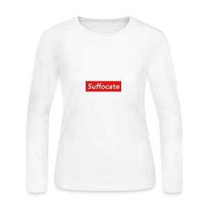 Suffocate - Women's Long Sleeve Jersey T-Shirt