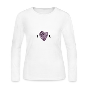 FlowHeart wikiMINI 4 - Women's Long Sleeve Jersey T-Shirt