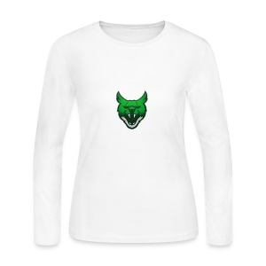 Zarah Mascot - Women's Long Sleeve Jersey T-Shirt