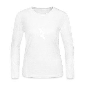NF All White - Women's Long Sleeve Jersey T-Shirt