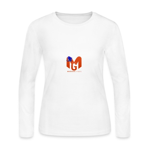 MaddenGamers MG Logo - Women's Long Sleeve Jersey T-Shirt