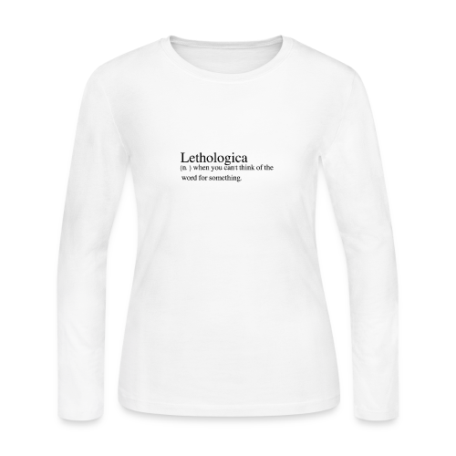 Lethologica - Women's Long Sleeve Jersey T-Shirt