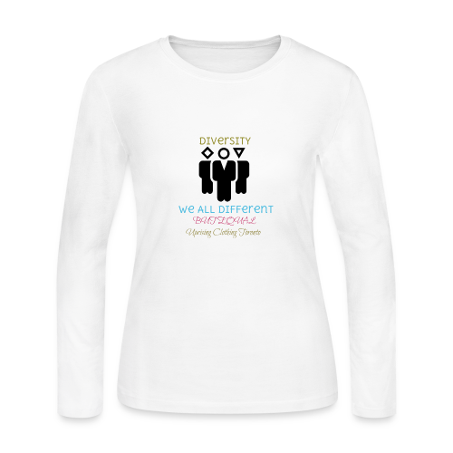 Equality - Women's Long Sleeve Jersey T-Shirt
