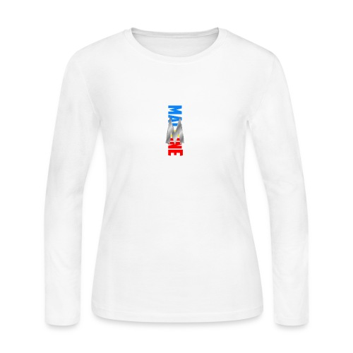 Side wayz Mero - Women's Long Sleeve Jersey T-Shirt