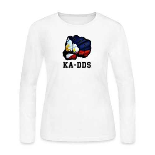 Duterte Fist of the DDS - Women's Long Sleeve Jersey T-Shirt