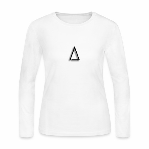 A / Tri / illuminated / Alpha / triathlete - Women's Long Sleeve Jersey T-Shirt