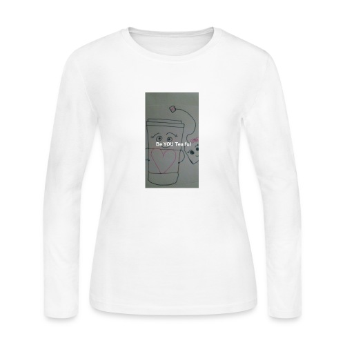 BeYOUTeaFul - Women's Long Sleeve Jersey T-Shirt