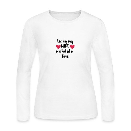 Loosing my mind one kid at a time - Women's Long Sleeve Jersey T-Shirt