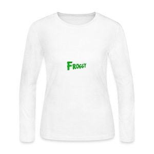 FROGGY - Women's Long Sleeve Jersey T-Shirt