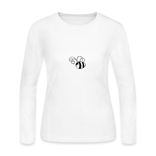Travis the Bee - Women's Long Sleeve Jersey T-Shirt