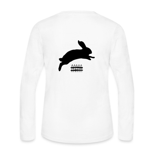 Rabbyt and Fence - Women's Long Sleeve Jersey T-Shirt