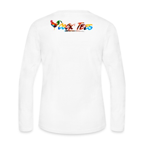 Cock Tees Cover Image Long Sleeve - Women's Long Sleeve Jersey T-Shirt