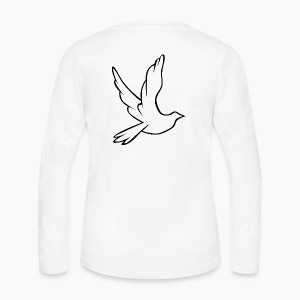 Dove - Women's Long Sleeve Jersey T-Shirt