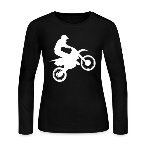 Motocross - Women's Long Sleeve Jersey T-Shirt