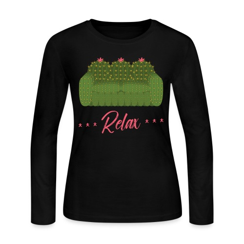 Relax! - Women's Long Sleeve Jersey T-Shirt