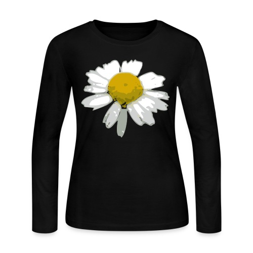 Daisy - Women's Long Sleeve Jersey T-Shirt