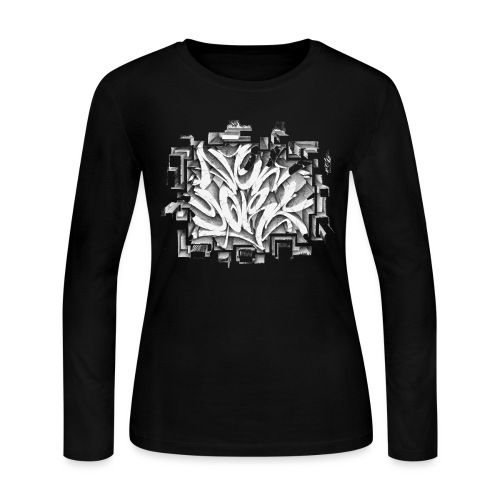 Kostya - NYG Design - Women's Long Sleeve Jersey T-Shirt