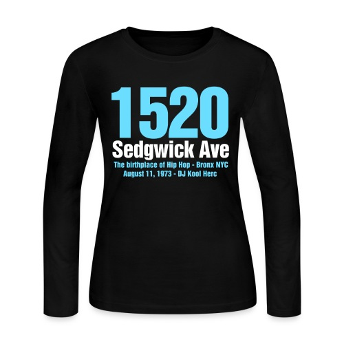 The Birthplace of Hip Hop - Women's Long Sleeve Jersey T-Shirt