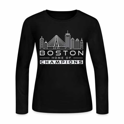 Boston - Women's Long Sleeve Jersey T-Shirt