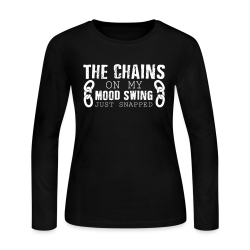 Mood Swings - Women's Long Sleeve Jersey T-Shirt
