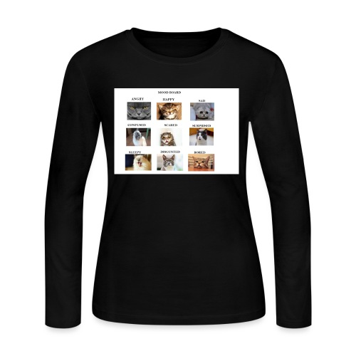 MOOD BOARD - Women's Long Sleeve Jersey T-Shirt