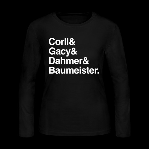 Gay Serial Killers - Women's Long Sleeve Jersey T-Shirt