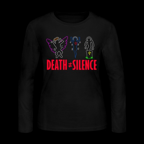 Death Does Not Equal Silence - Women's Long Sleeve Jersey T-Shirt