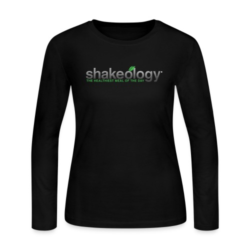 shakeology png - Women's Long Sleeve Jersey T-Shirt