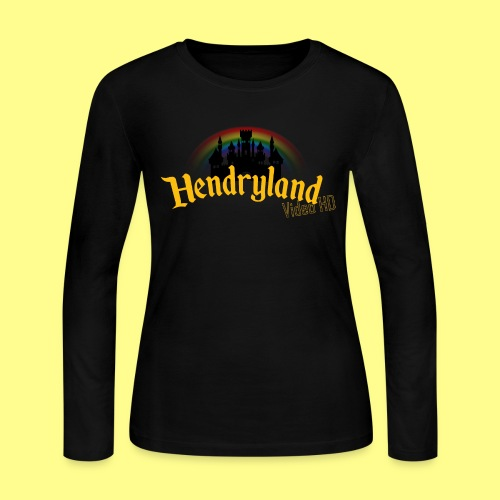 HENDRYLAND logo Merch - Women's Long Sleeve Jersey T-Shirt