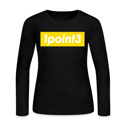 1point3 yellow - Women's Long Sleeve Jersey T-Shirt