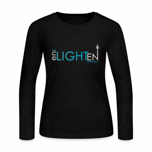 The enLIGHTenUP Podcast - Women's Long Sleeve Jersey T-Shirt