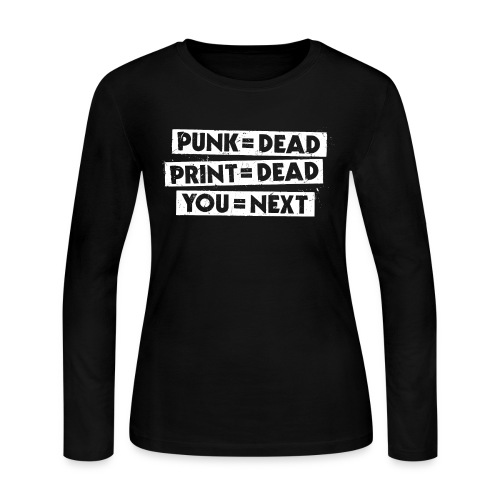 You = Next - Women's Long Sleeve Jersey T-Shirt