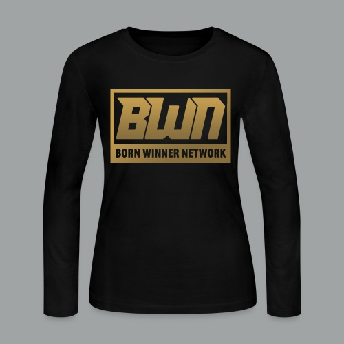 BWN (Gold) - Women's Long Sleeve Jersey T-Shirt