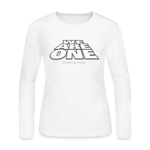 We are One 2 - Women's Long Sleeve Jersey T-Shirt