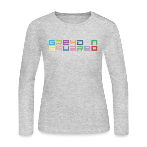 colorfulLOGO2 png - Women's Long Sleeve Jersey T-Shirt