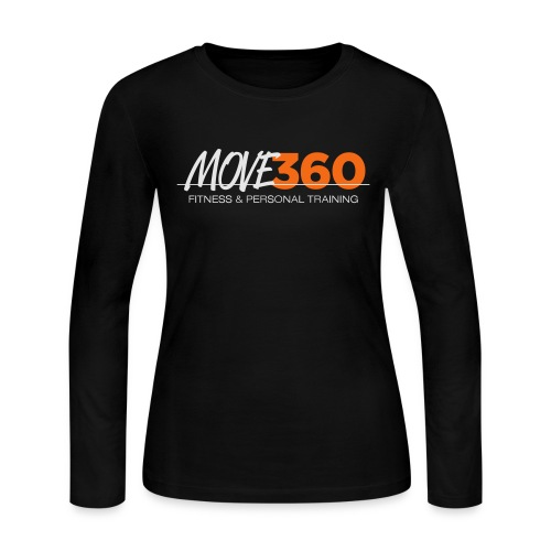 Move360 Logo LightGrey - Women's Long Sleeve Jersey T-Shirt