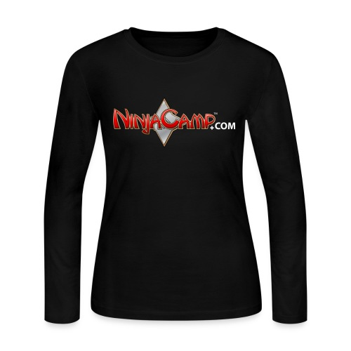 NC Logo for Dark Products - Women's Long Sleeve Jersey T-Shirt