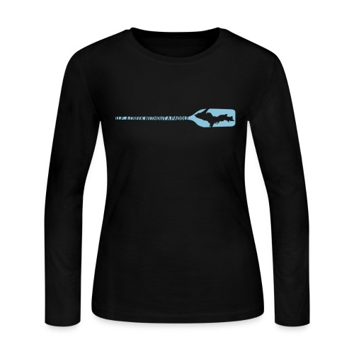 U.P. a Creek - Women's Long Sleeve Jersey T-Shirt