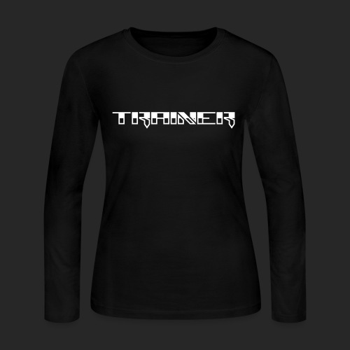 Wicked Dano Trainer Design - Women's Long Sleeve Jersey T-Shirt