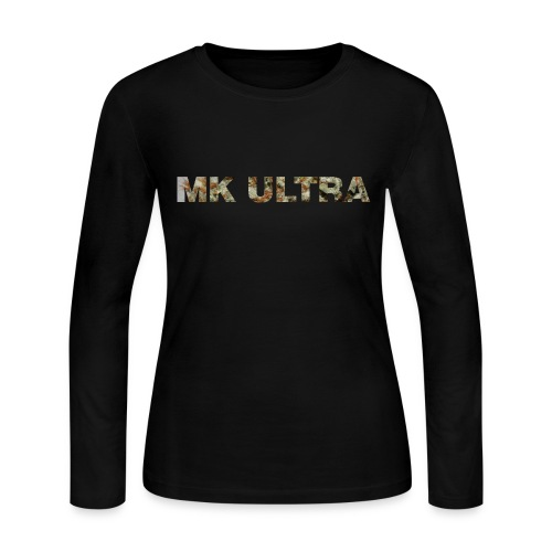MK ULTRA.png - Women's Long Sleeve Jersey T-Shirt